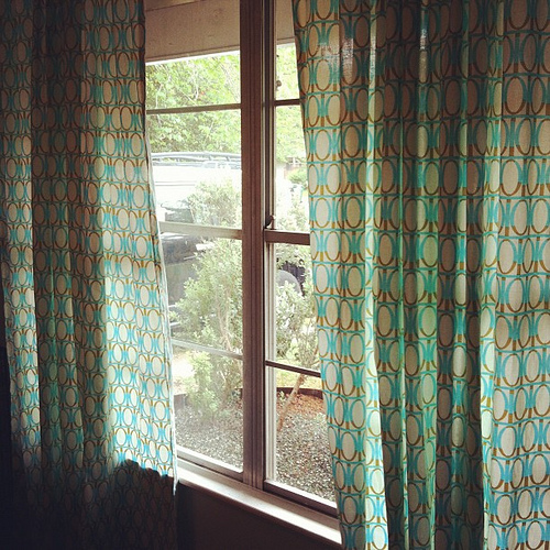 Lo & Behold | mid-century curtains