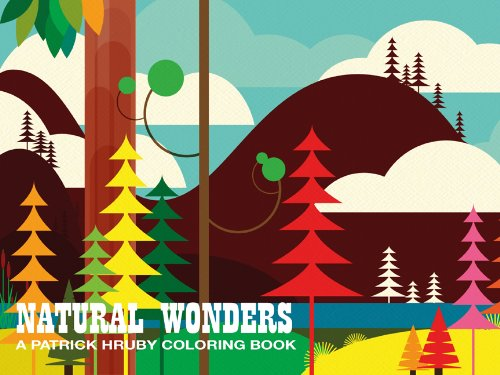Natural Wonders coloring book
